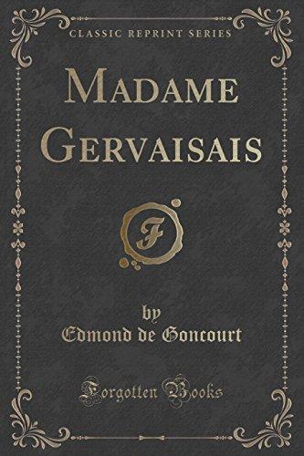 Madame Gervaisais (Classic Reprint)