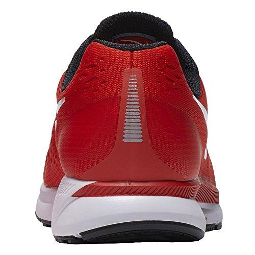 Zoom Air Pegasus 34 Mens Tb Nike 887.009-801 Arancione / Bianco