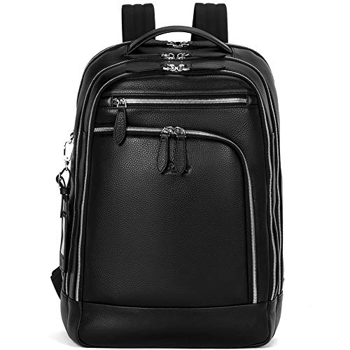 CLUCI Men Leather Backpack
