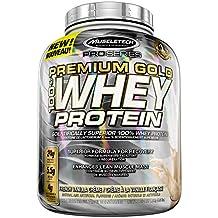 MuscleTech Pro Series Premium Gold Whey Protein, Protein Powder, Vanilla, 4 Pound