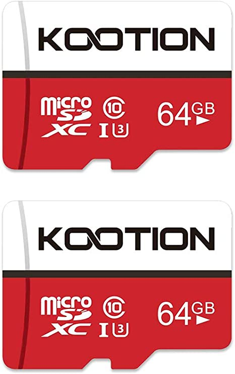 KOOTION Tarjeta MicroSD 64GB Clase 10 Micro SD 64GB Tarjeta ...