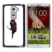 GRECELL CITY GIFT PHONE CASE /// Cellphone Protective Case Hard PC Slim Shell Cover Case for LG G2 /// White Wizard