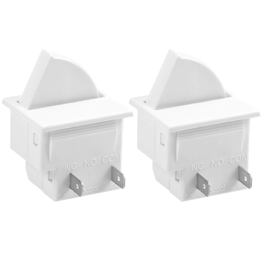 uxcell Refrigerator Door Light Switch LTK-17 Momentary Fridge Switch Normally Closed 0.5A 250V AC