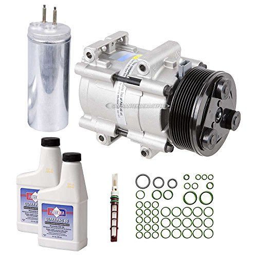 Ford Windstar Air Conditioning (New AC Compressor & Clutch With Complete A/C Repair Kit For Ford Windstar - BuyAutoParts 60-80251RK New)