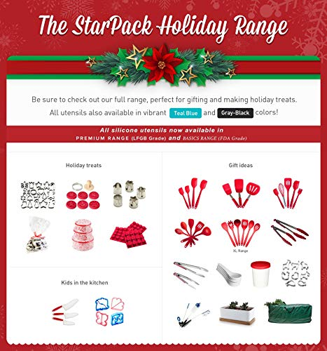StarPack Premium Mini Animal Cookie Cutters including Goldfish Cookie Cutter, Bonus 101 Cooking Tips