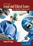 Legal and Ethical Issues for Health Professionals, Third Edition provides the reader with a clear understanding of the law and ethics as it relates to health care dilemmas. The practical application of ethics in the health care setting is accomplishe...