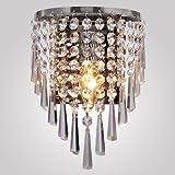 LightInTheBox Modern Semi Circular Crystal Wall light Lights for Home