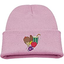 Msiiks My Lunch is Delicious Children's Knit Hat, Warm and Dirty Bones Hat.