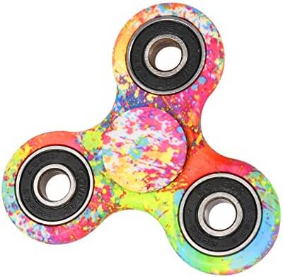 Leezo Hand Spinner Toys 3D card Figit Premium quality EDC Focus Toy for Kids Perfectly Fits inside the Pocket Spins Smoothly Fast