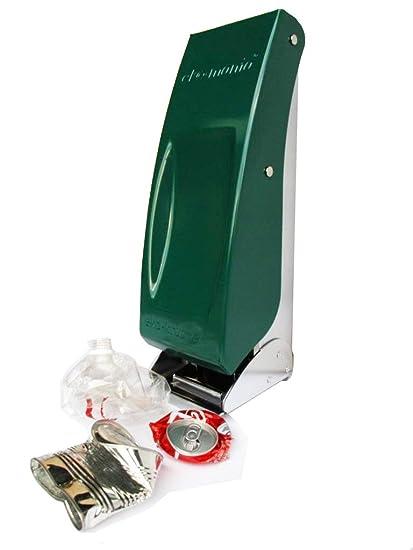Compra eko-mania E-M1050GN - Aplastador de botellas y latas, color verde en Amazon.es