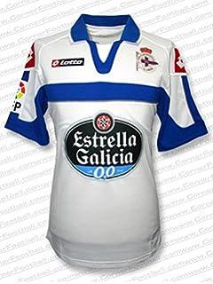 Camiseta RC Deportivo de la Coruña Home 2016-2017 Royal-White Talla ... 477592c9a1a60