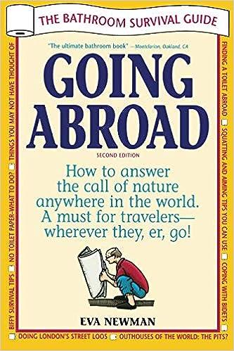 7f229f067562 Going Abroad  The Bathroom Survival Guide  Eva Newman  9781892147035   Amazon.com  Books
