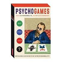 PSYCHOGAMES : TESTS DE PERSONNALITÉ JEUX ET QUESTIONNAIRES (COFFRET 8 LIVRETS + 9 CARTES + 1 POSTER)