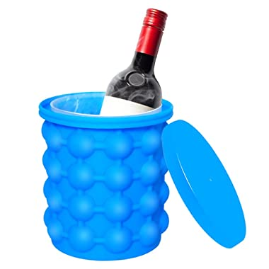 Ice Cube Maker Genie,Silicone Ice genie ice maker,Large Capacity,Hold Up To 120 ice cubes