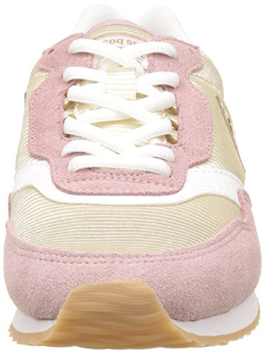 Mauve Basses nylon Sportif Dot Baskets Le Femme turtle Louise Rose pale Suede Coq aZf6qf