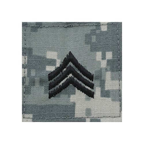- Authentic Military Rank Insignia US Made (Sergeant - ACU)