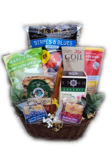 Healthy Grandparent's Day Gift Basket by Well Baskets by Well Baskets