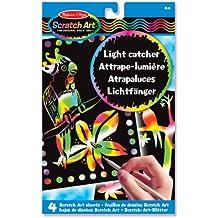 Melissa & Doug Scratch Art Light Catcher Sheets