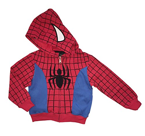 Marvel Spider-Man Little Boys & Toddler Character Costume Hoodie