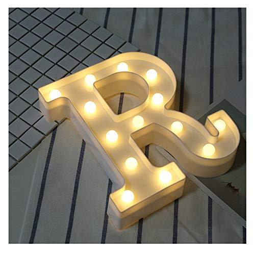 Valentine's Day DIY Letter Symbol Sign Heart Lighting LED Vintage Plastic LED Lights Decorations R -