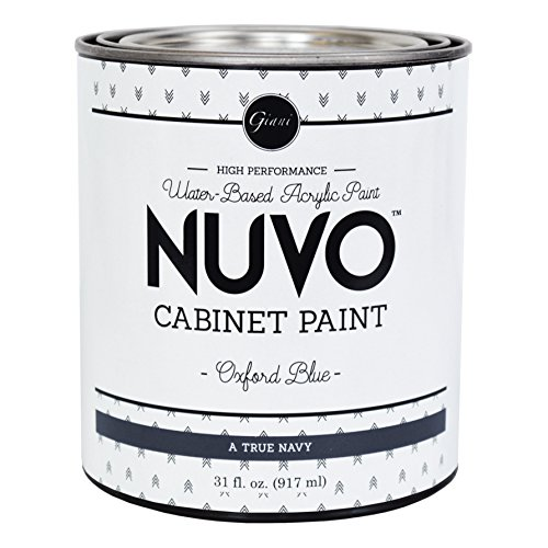 (Nuvo Cabinet Paint, Oxford Blue (Quart))