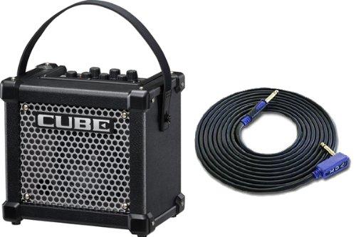 【VOX3mシールド付】Roland/ローランド MICRO CUBE GX/ブラック Guitar Amplifier [M-CUBE GX] B00ECMXR16