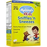 Hyland's Sniffles and Sneezes 4 Kids -- 125 Tablets