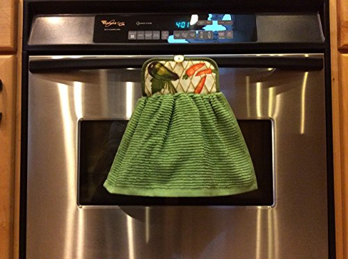 Kitchen Decor Practical Vegetable Potholder Towel Combination