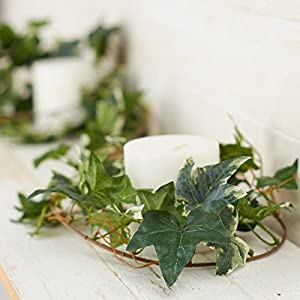 Factory Direct Craft 12 Feet of Artificial Mixed Ivy Vine Garland for Home Decor, and Displaying 3