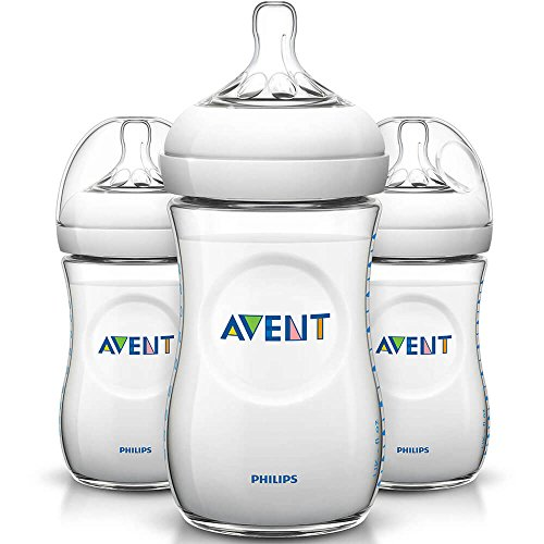 Avent Electronic - Philips SCF01337 Avent 9oz Natural Baby Bottle - 3 Pack SCF013/37