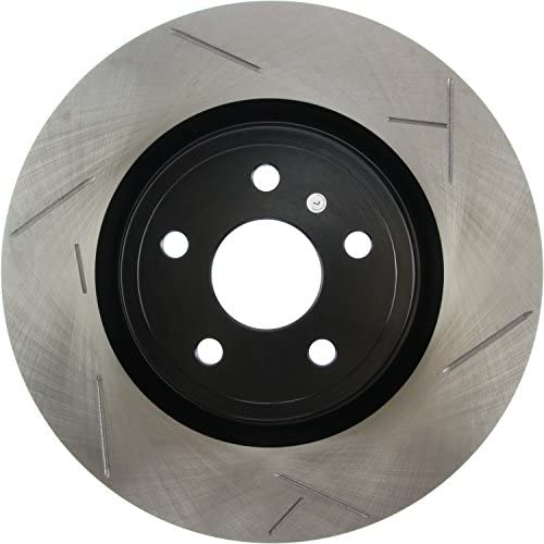 StopTech 126.62055SL Sport Slotted Brake Rotor; Front Left