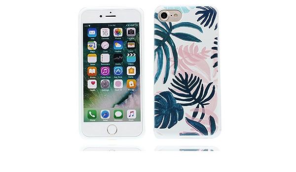 iPhone 8 Plus étui,iPhone 8 Plus Coque,Ultra Slim Premium Flexible Gel de Silicone Doux Peau TPU Mignon Cartoon Housse de protection Coque de ...