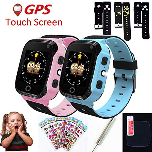 mrGood Q528 Y21 Q42 GPS Children Smart Watch with Camera Flashlight Baby Watch SOS Call Location Device Tracker Kid Safe vs Q750 Q100