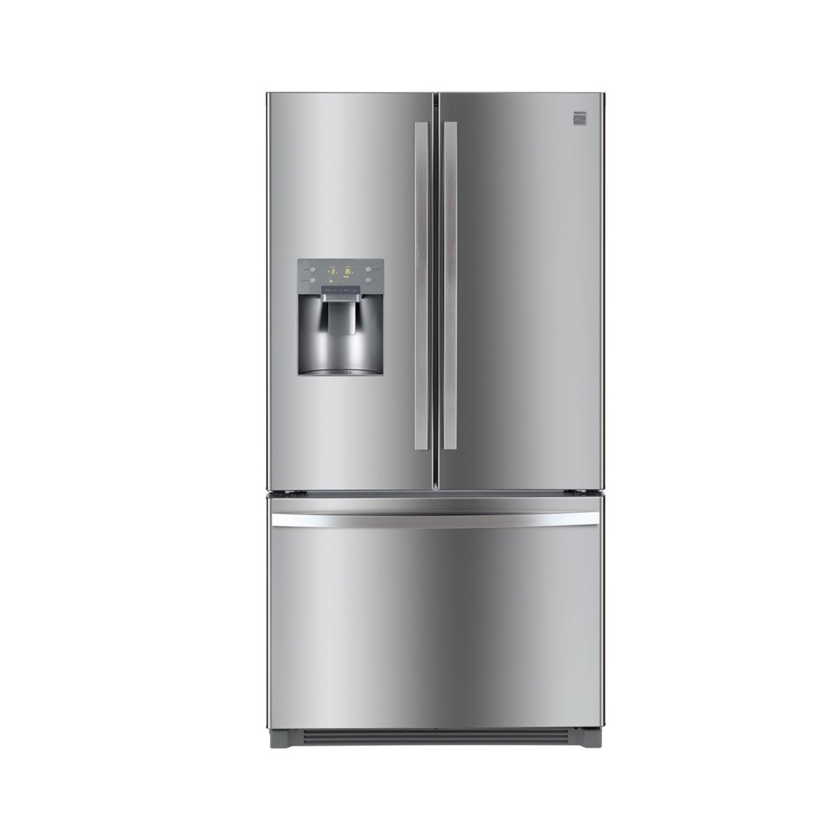 Amazon.com: Kenmore 73045 25.6 cu.ft. French Door Refrigerator with  Bottom-Freezer, includes delivery and hookup: Appliances