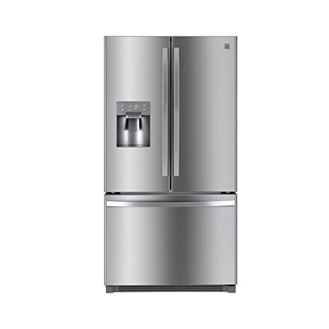 Amazon Kenmore 73045 256 Cuft French Door Refrigerator With