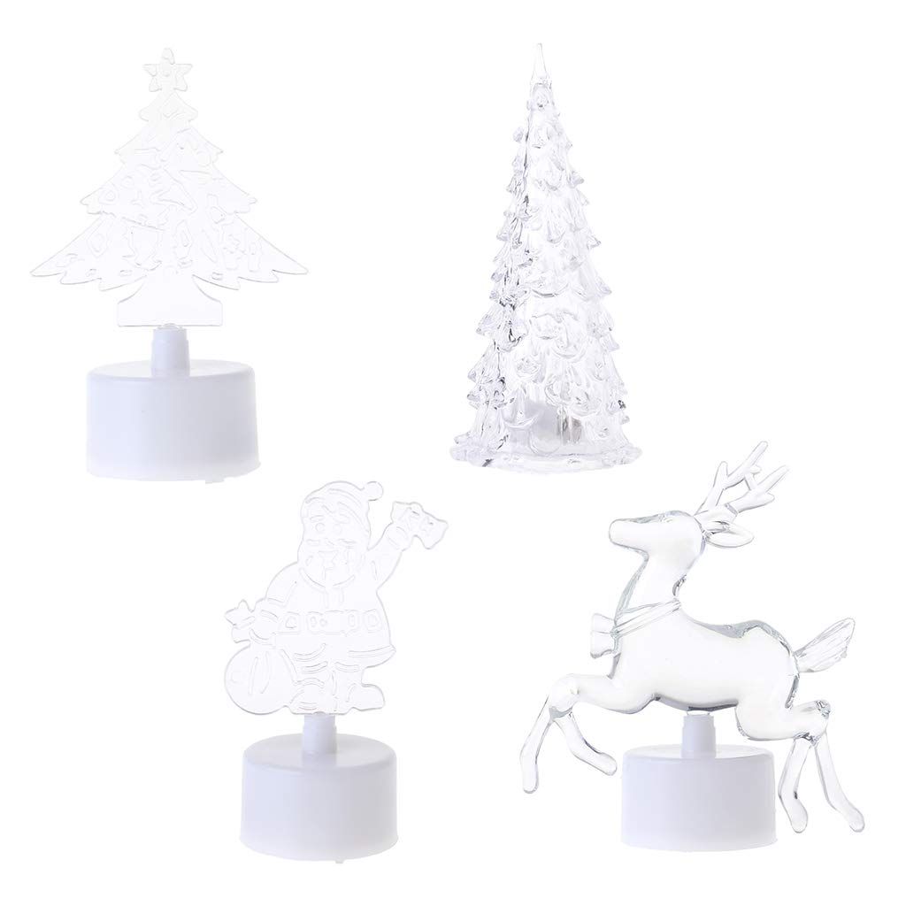 Hijing Christmas Tree LED Night Light,Changing Color for Decorative Wall Lamp Home Christmas Party Decor by Hijing (Image #4)
