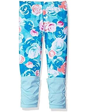 Toddler Baby Girls' Rose Print Leggings