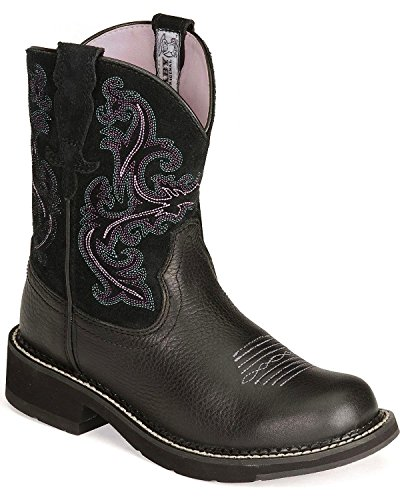 Ariat Womens Fat Deercowgirl Laars - 10004729 Zwart