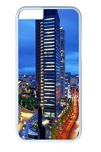 China Towers PC Case Cover for iphone 6 plus 5.5 inch White wangjiang maoyi