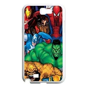 Samsung Galaxy N2 7100 Cell Phone Case White Marvel Comics Superheroes 2 E3X1XF