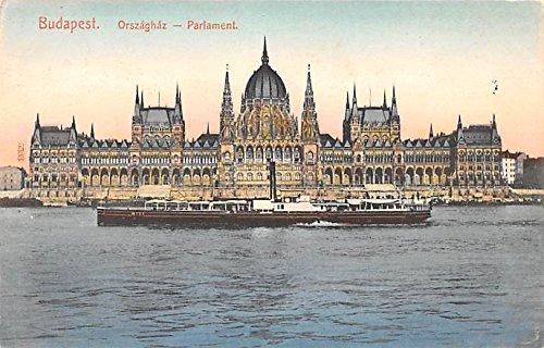 Orszaghaz Parlament Budapest Republic of Hungary Postcard