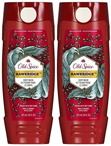 Old Spice Wild Body Wash - Hawkridge - 16 oz - 2 pk - Old Spice Scented Body Wash