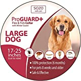 Dog Flea Treatment Collar - Flea Tick Collar - LARGE DOG - ProGuard Plus II (safe pet protection from pest bites infestations larvae lice mosquitoes)