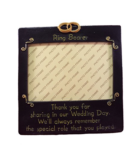 Ring Bearer Photo Frame - Wedding Supplies & Wedding Party Gifts (Ring Bearer Picture Frame compare prices)
