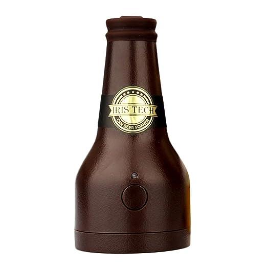 Dispensador De Cerveza,Portátil Vibración Ultrasónica Batería Cerveza Cremosa Espuma Servidor Espumador De Cerveza Cerveza Bar Ultrasónica Enriquece Sabor ...