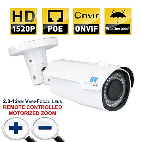 GW Security HD 2MP 1080P HDCVI/AHD/TVI 960H Dome Security Camera Outdoor Day Night Video Surveillance (Default AHD Mode)