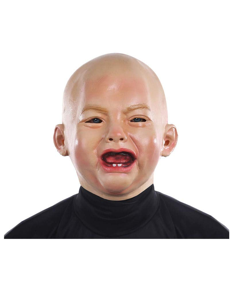 Horror-Shop M/áscara de beb/é llorando
