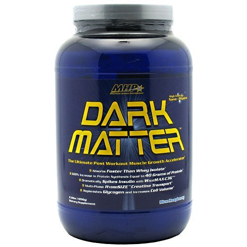 MHP Dark Matter Blue Raspberry Post Workout New Improved Formula, 3.2lbs/1450g