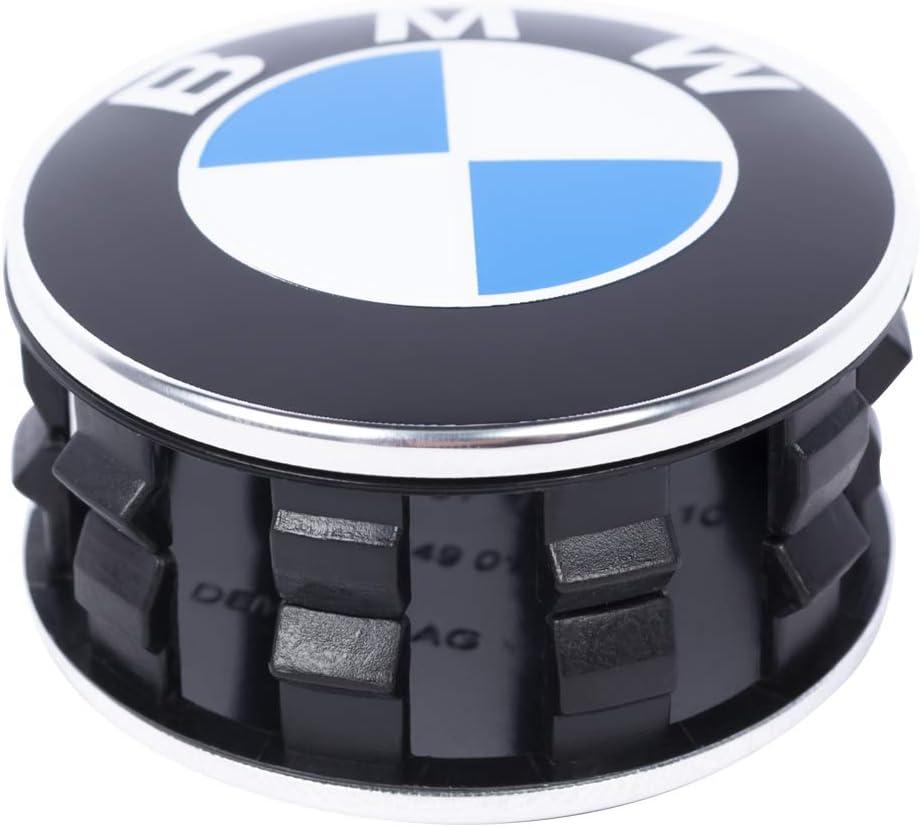 GULULU 4pcs 56MM Coprimozzo Coprimozzi Auto Tappi Centrali per Ruote per X1 X3 1 Serie 2 Serie 5 Serie 7 Serie