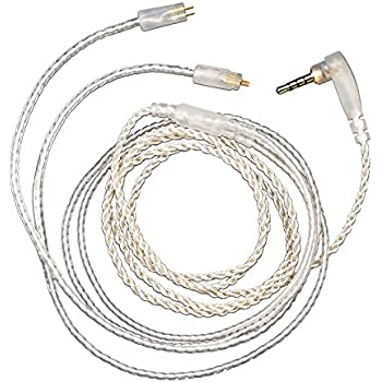 Amazon Com Newest Kz 2 5mm Trrs Spc Cable 0 75mm 2 Pin Upgraded